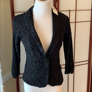 NWT Poof Couture Small Lace Jacket Lined, adorable
